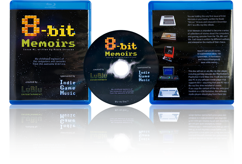8bit Memoirs on Blu-ray Disc
